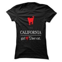 This girl - cali cat - #sweatshirt organization #grey sweater. GUARANTEE => https://www.sunfrog.com/LifeStyle/This-girl--cali-cat.html?68278