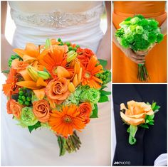 crescent bend wedding, knoxville wedding photographer, always in bloom, orange and green wedding
