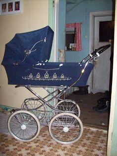 Emmaljunga barnvagn från 1970 talet