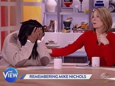 "Whoopi breaks down in tears on the set of ""The View"" live this week and her co-workers did their best to help her through this."