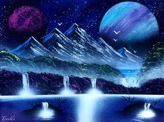 Original spray paint art on canvas 18x24 on Etsy, $66.53 AUD