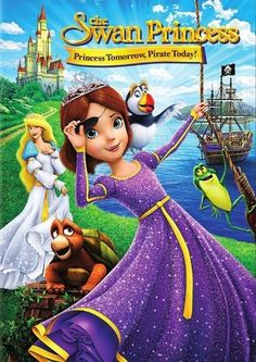 The Swan Princess: Princess Tomorrow, Pirate Today [DVD] [2016] - Front_Standard