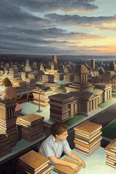 Canada - Rob Gonsalves - Towers of Knowledge