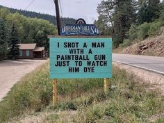 Indian Hills Community in Colorado enjoys a good laugh with their ever-changing and ever-punny signs. Local community center volunteer Vince Rozmiarek is the… 9gag Funny, Funny Shit, Funny Puns, Funny Fails, Funny Texts, Funny Stuff, Hilarious Sayings, Funny Riddles, Funny Humor