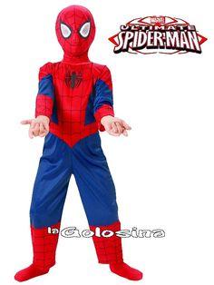 Disfraces infantiles (niño/a) (0 a 13 años) - 03 - L I C E N C I A S -Disfraz Inf. NiñO: Spiderman ® (LICENCIA)