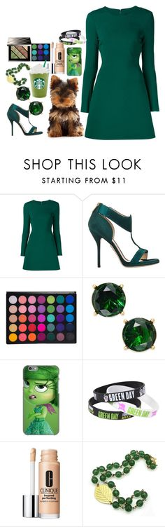 """Buying Rex the Dog"" by applejice221 ❤ liked on Polyvore featuring Cushnie Et Ochs, Paul Andrew, Lauren Ralph Lauren, Disney, Clinique, Burberry and dog"