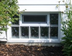 Windows Glass Block Basement Windows With Good Form On The Back Wall Of The House At The Bottom Of Your Home Stylish White Paint Efficient Home Decoration with Glass Block Basement Windows