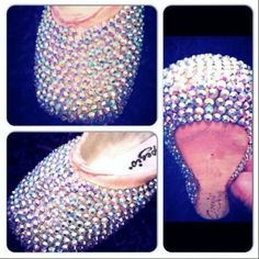 Customised pointe shoes from Capezio fan Emma.