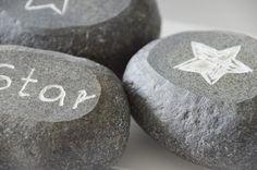 House No. 43: DIY - Steine gravieren