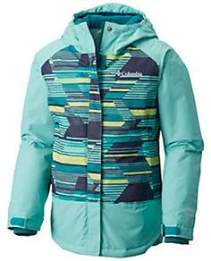 Girls' Mighty Mogul™ Jacket Outdoor Pants, Outdoor Outfit, Outdoor Gear, Suits You, Cool Suits, Columbia Girls, Columbia Sportswear, Motorcycle Jacket, Hooded Jacket