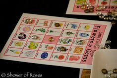 Little Flowers Girls' Club(R): Mother-Daughter Tea Party Game Ideas