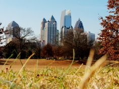 Free date idea: Make a list of parks in Atlanta and the metro area, and when we have free time, pick one and go take a walk together - crossing each one off as we go to it