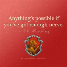Gryffindor pride! This was what Ginny was telling Harry when she was talking about the twins.