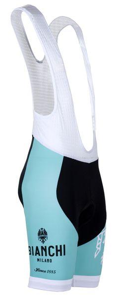 Bianchi-Milano Tambre Celeste Bib Shorts (2016)