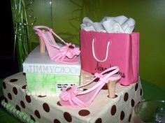 Pink Shoe Cake by BrownSuga', via Flickr