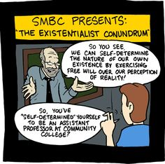 Oh Existentialism...so close, and yet, so far...