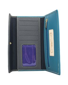 ClaudiaG Collection - Easy Wallet -Turquoise SPECIAL Black Friday Pricing through 11/27