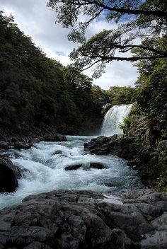 ♥ Tawhai Falls ~ Tongariro National Park