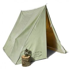 The Filson Wedge Tent is ideal when you need to be prepared for the worst outdoors.