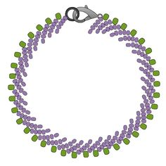 Single St. Petersburg Stitch | Beading Techniques | Fusion Beads  (CLICK THROUGH TO SEE INSTRUCTIONS)