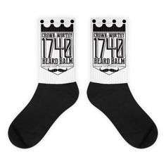NEW on TheDrop.com:  Crown Worthy Socks   http://thedrop.com/products/black-foot-socks-1?utm_campaign=social_autopilot&utm_source=pin&utm_medium=pin    --  #thedrop #thenewnew #streetwear #sneaker #skateboarding