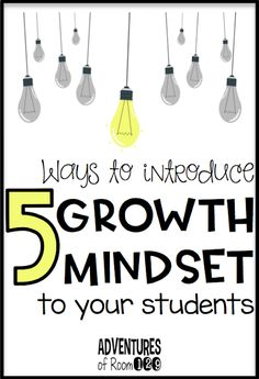 Adventures of Room 129: 5 Ways to Introduce Growth Mindset to Your Students