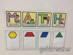 Cute management idea for differentiated math groups