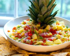 Wonderful, summery flavors combine in this healthy, colorful salsa from Phil Stocker.
