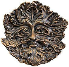 Outdoor Statues Large Size  Top Collection Miniature Fairy Garden and Terrarium Green Man Face Incense Holder, 5-Inch Porch Makeover * This is an Amazon Associate's Pin. Item can be found on the website by clicking the image.