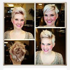 Extraordinary beautiful short haircuts that you should have seen.