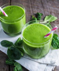 Sweet Spinach-Mango Smoothie