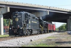 old store signs in roanoke virginia | ... 522 Norfolk & Western EMD GP-30 at Roanoke, Virginia by Skip Salmon