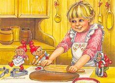 Marjaliisa Pitkäranta Modern Christmas, Christmas Cards, Gingerbread Houses, Cute Art, Gnomes, Elves, Troll, Finland, Danish