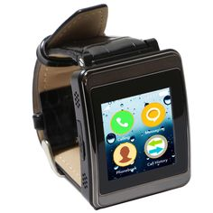 Kocaso KW400 Multipurpose Smart Watch in Black - Beyond the Rack