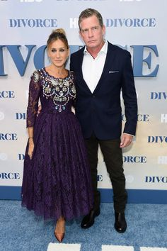 "Sarah Jessica Parker Photos Photos - Sarah Jessica Parker and Thomas Haden Church attend the ""Divorce"" New York Premiere at SVA Theater on October 4, 2016 in New York City. - ""Divorce"" New York Premiere"