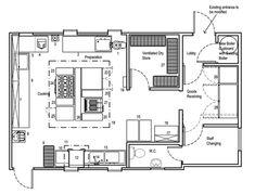 Blueprints Of Restaurant Kitchen Designs In 2018 Restaurant