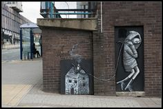 Phlegm, Sheffield - unurth   street art