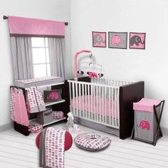 How LUSH is this 10 piece baby bedding set!   SO PRETTY and a GREAT price at Walmart   Take a look at what you get > http://shop.pn/go/CjHj #StupidPrices