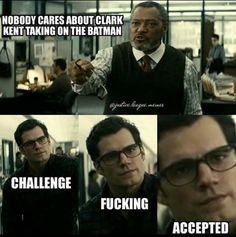 Love this via Justice League Memes on IG I Am Batman, Batman Vs Superman, Marvel Memes, Marvel Dc Comics, League Memes, Superhero Memes, Nerd Humor, Comics Universe, Detective Comics