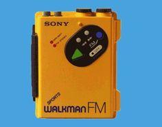 Walkman .... und dann noch Wasserdicht - Wow  :-)