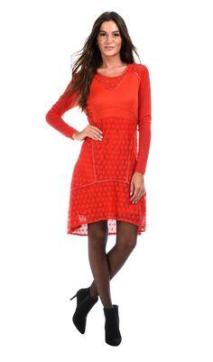 Robe NILA rouge
