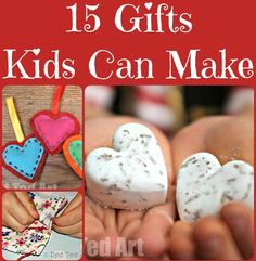 Christmas Gifts Ideas That Kids Can Make
