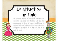 Affiches sur le schéma narratif French Resources, French Immersion, French Teacher, Cycle 3, Writing Workshop, Daily 5, Reading Activities, French Language, Learn To Read