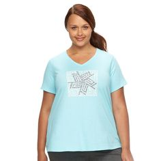 Plus Size Tek Gear® Graphic Tee, Women's, Size: