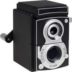 Camera Pencil Sharpener $13.95