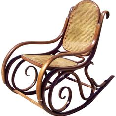 Vintage Thonet Rocker c. 1890: $1750.  I bought one very similar from my older sister about 30 years ago for $20, LOL.