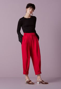 024 turn skirts and trousers red finery london 1809 1
