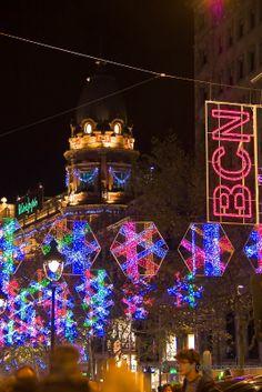BARCELONA NIGHT CHRISTMAS - by Juan Carlos Sánchez