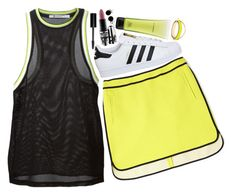 sporty by neurotic-mind on Polyvore featuring polyvore, fashion, style, T By Alexander Wang, Sportmax, adidas, CC SKYE, Bling Jewelry, MAC Cosmetics, Bobbi Brown Cosmetics and clothing