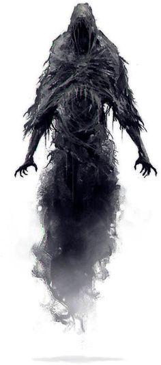 pathfinder shadows sorcerer - - Yahoo Image Search Results Shadow Creatures, Dark Creatures, Fantasy Creatures, Mythical Creatures, Monster Tattoo, Monster Drawing, Monster Art, Dark Fantasy Art, Fantasy Artwork